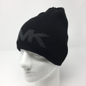 Michael Kors Reversible Knit Hat Winter Beanie